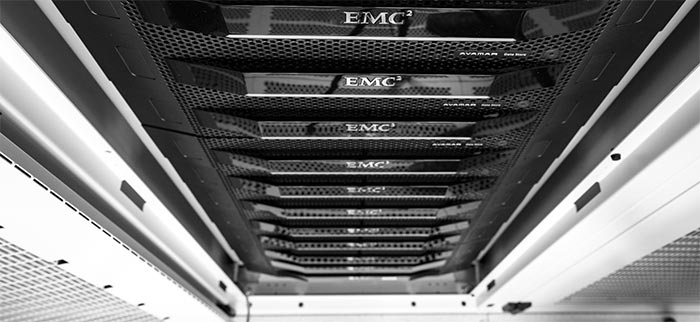 Macquarie Cloud Services offer custom reference hosting or byo blueprint or blue print EMC racks