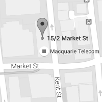 Macquarie Cloud Services - Sydney office map