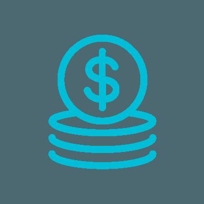 Cloud services - money icon