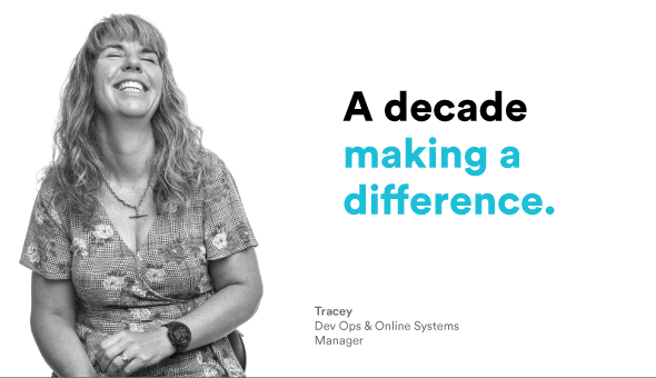 A decade of making a difference - Macquarie Cloud Services - Tracey Paine