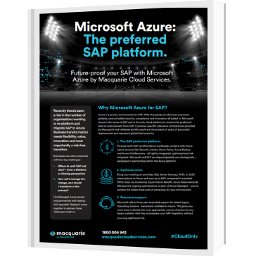 Azure for SAP brochure