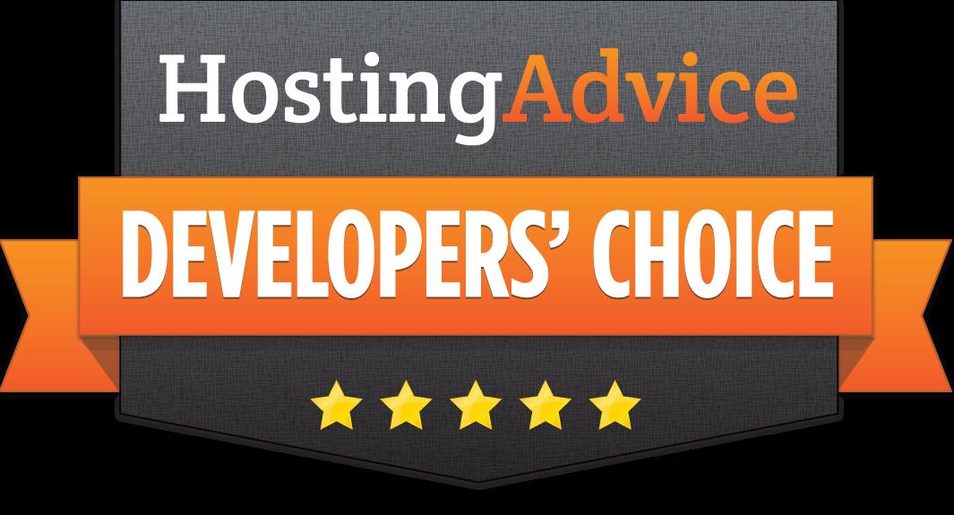 HostingAdvice Developers' Choice